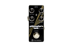 Pigtronix Philosopher's Tone goes Micro at NAMM